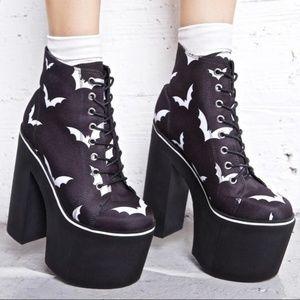 Dollskill Bat Chunky Boots 8m